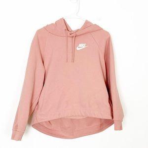 Nike Cropped Hoodie Size Large !